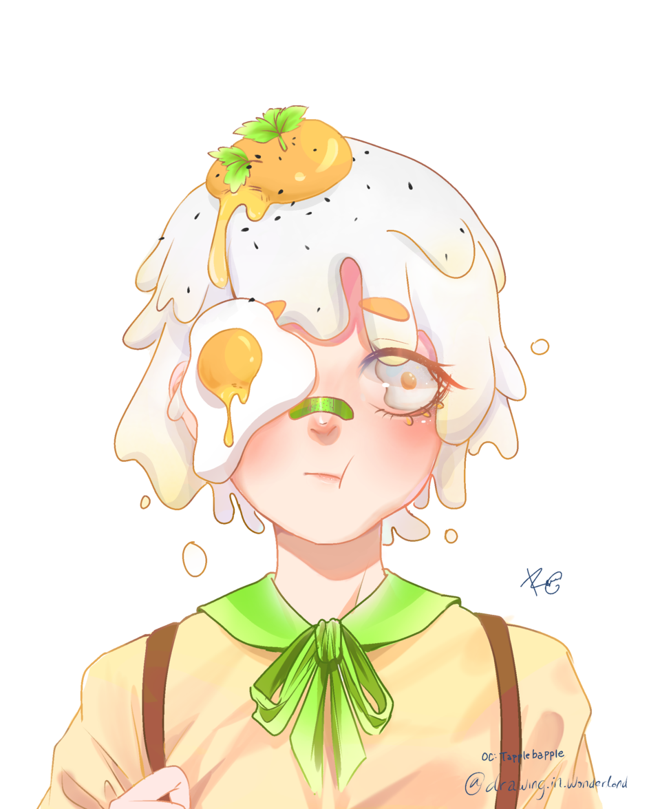 eggie Illust of Drawing.in.wonderland medibangpaint doodle Egg sketch