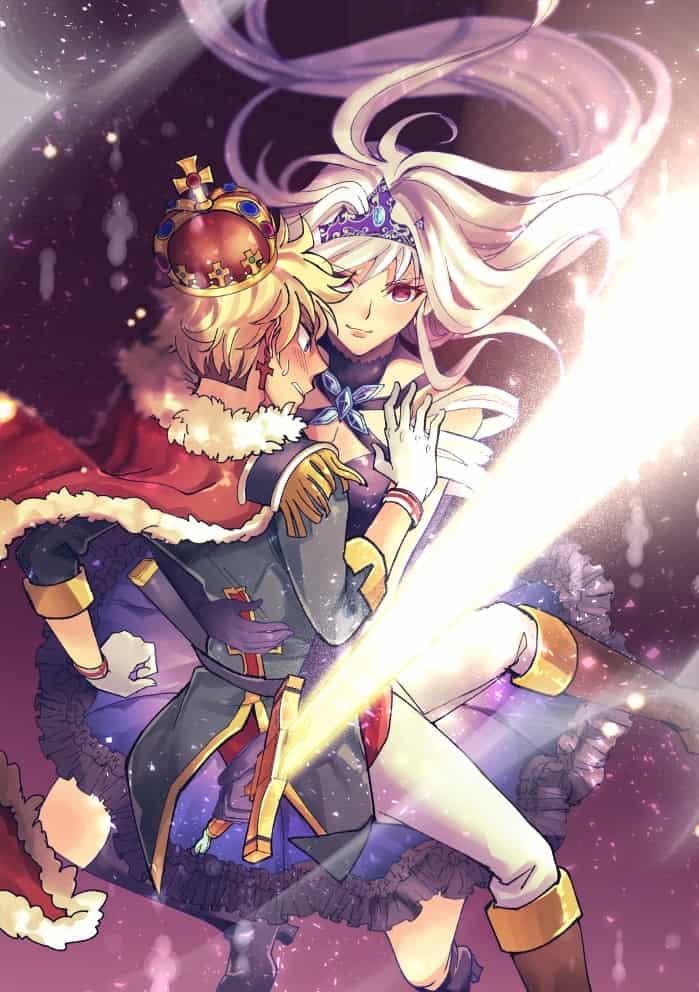 Princess and Prince Illust of 心融 Princess 男女 Prince original