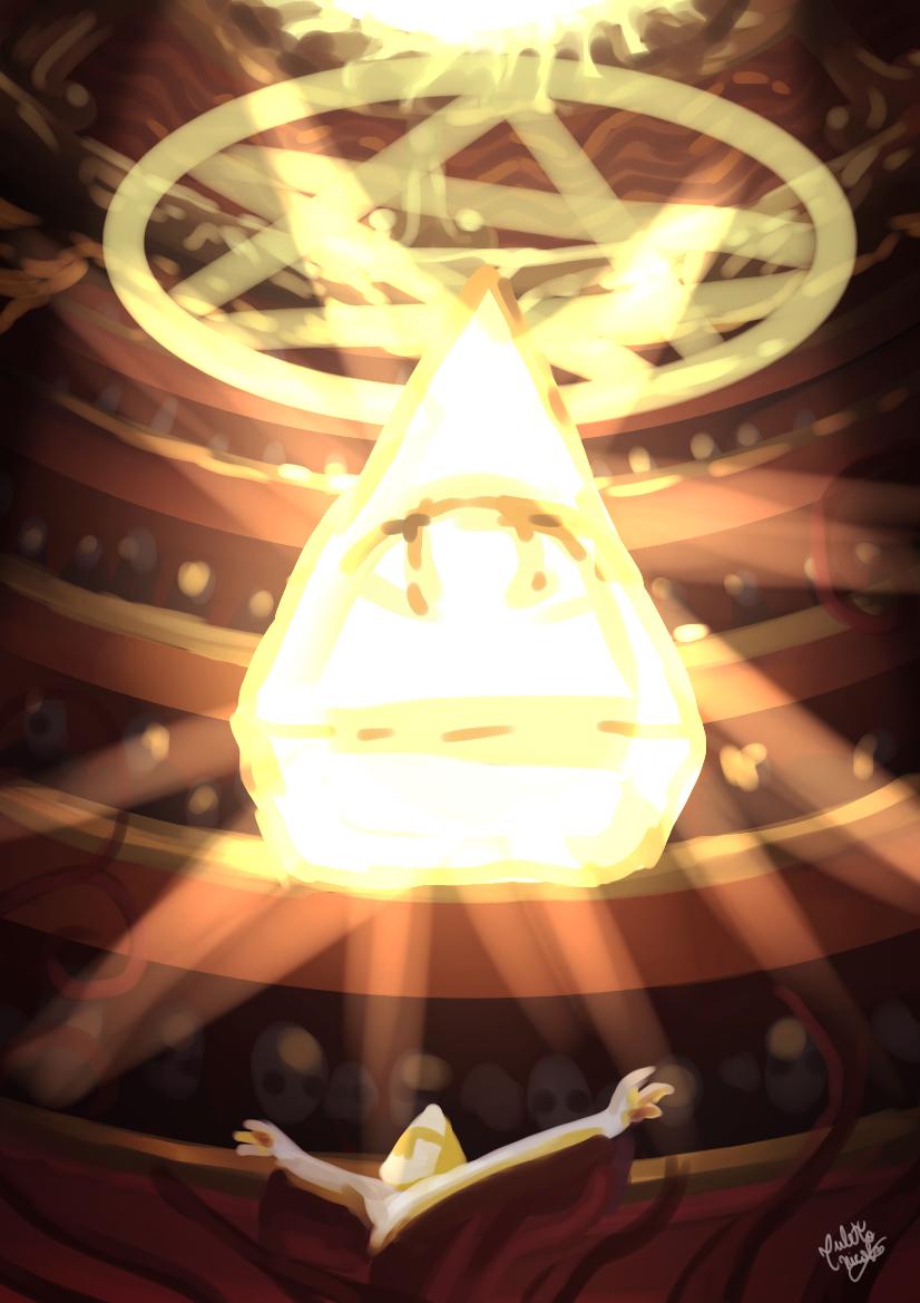 The Radiant Eye Illust of Anawello MySecretSocietyContest