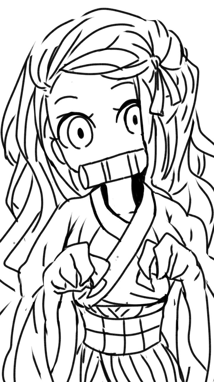 祢豆子 Illust of Niya medibangpaint KimetsunoYaiba