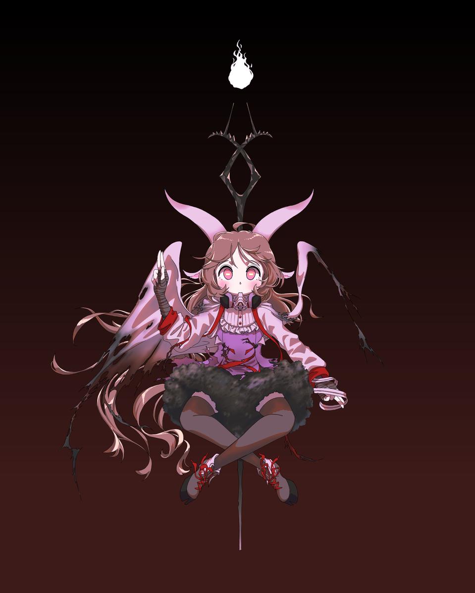 Eyjafjalla Illust of Moread medibangpaint Satanism Arknights