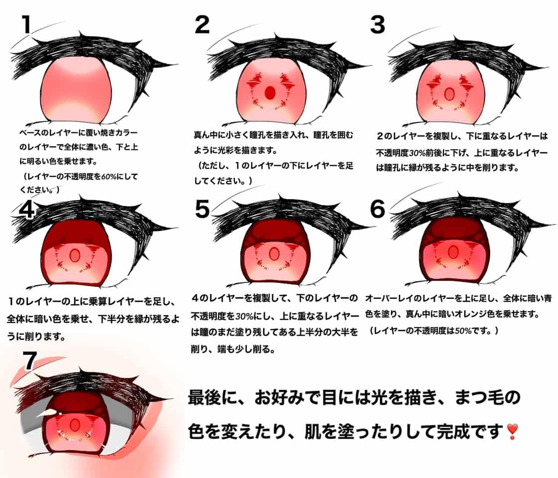 描きチャレ❣️ Illust of fayuri * The_Challengers tutorial eyes