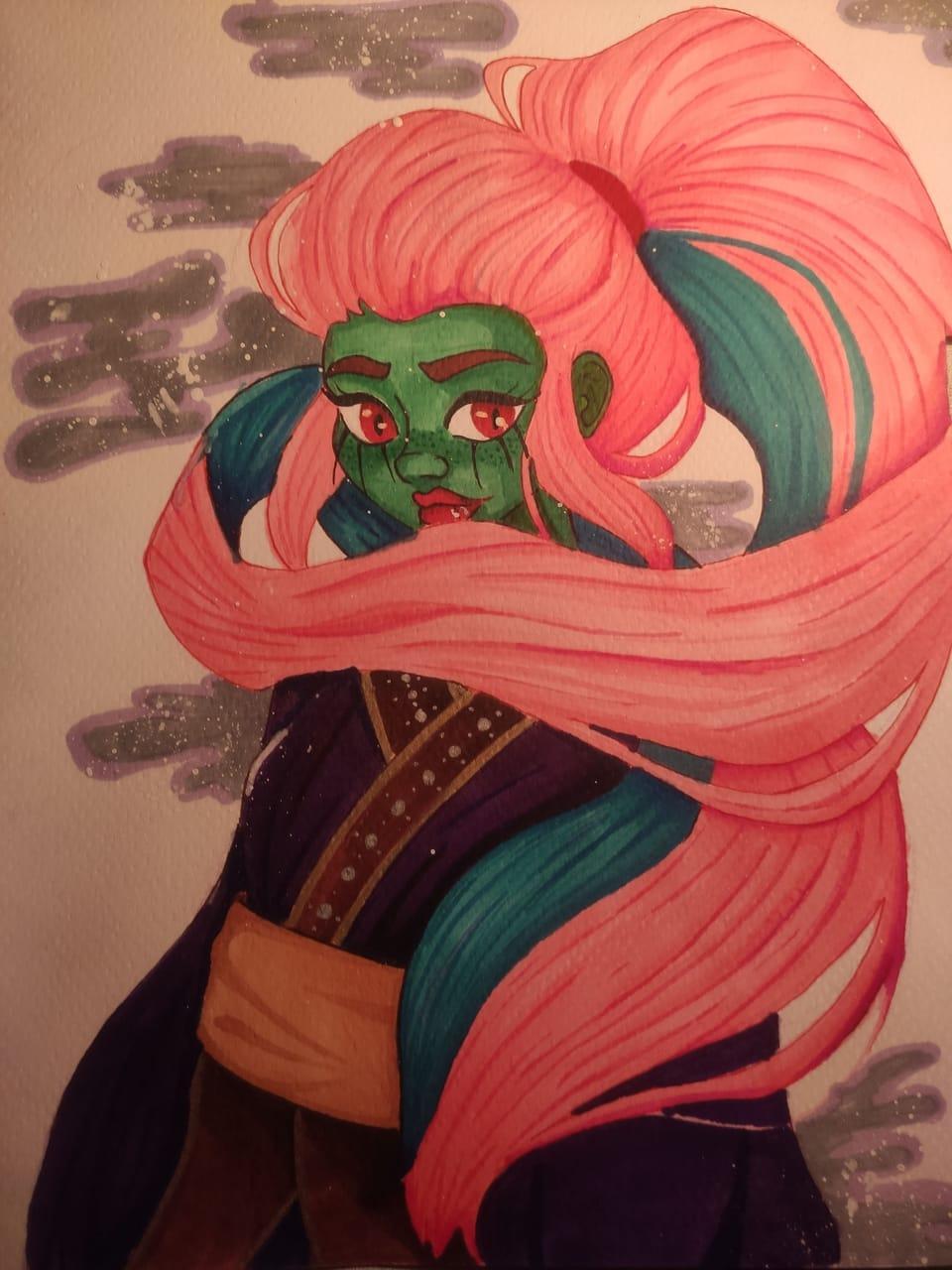 Moon Illust of Killua1227 artist illustration carcterdesign princess