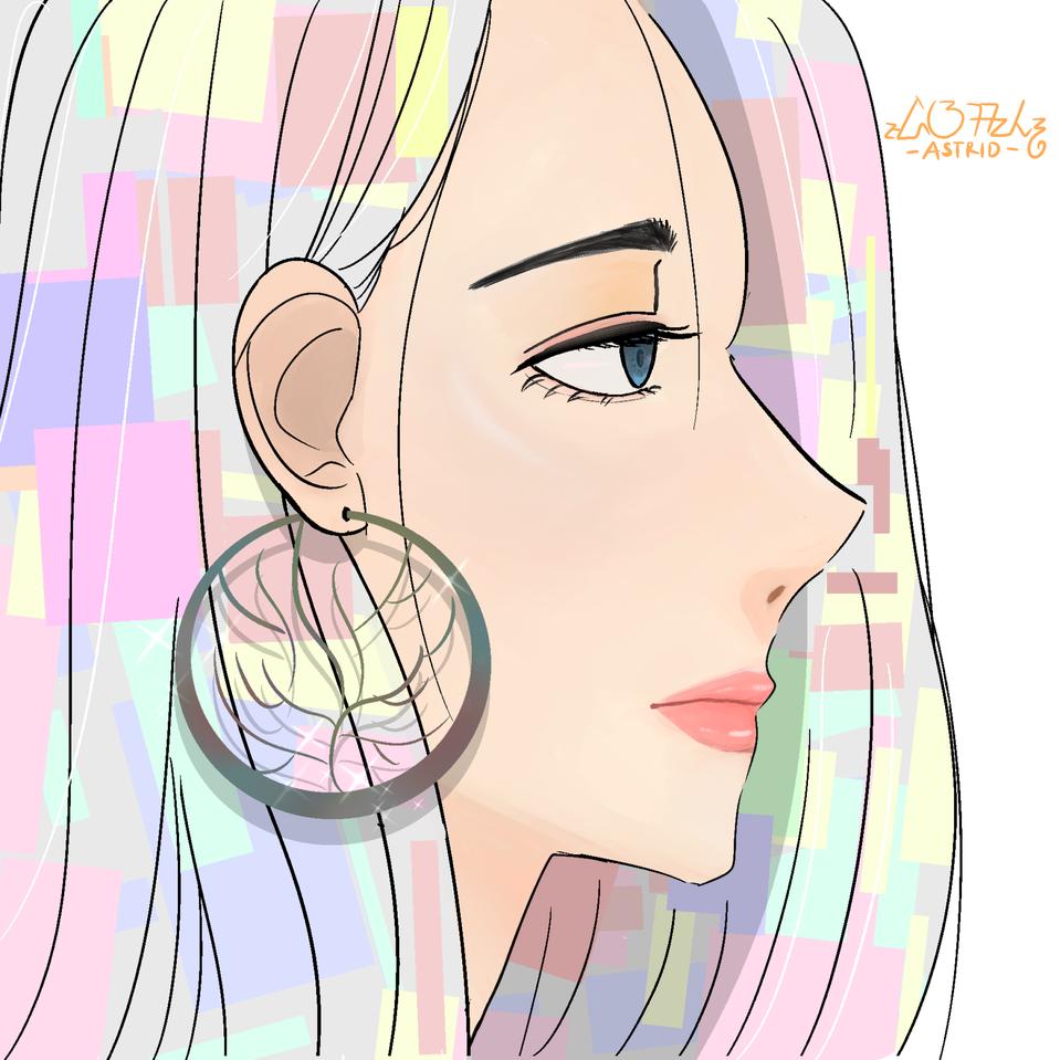 Colorful Hair Illust of chocolvs ARTstreet_Ranking April.2020Contest:Color medibangpaint pastel colorful color