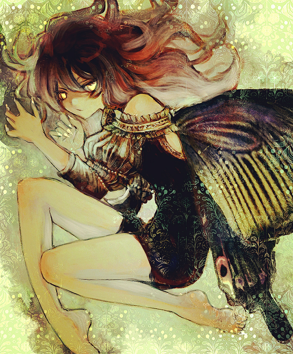 Illust of n butterfly original oc medibangpaint スマホ描き