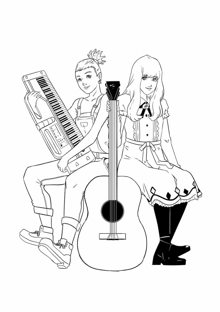Carole & Tuesday Illust of valdisghaffar carole&tuesday_fan