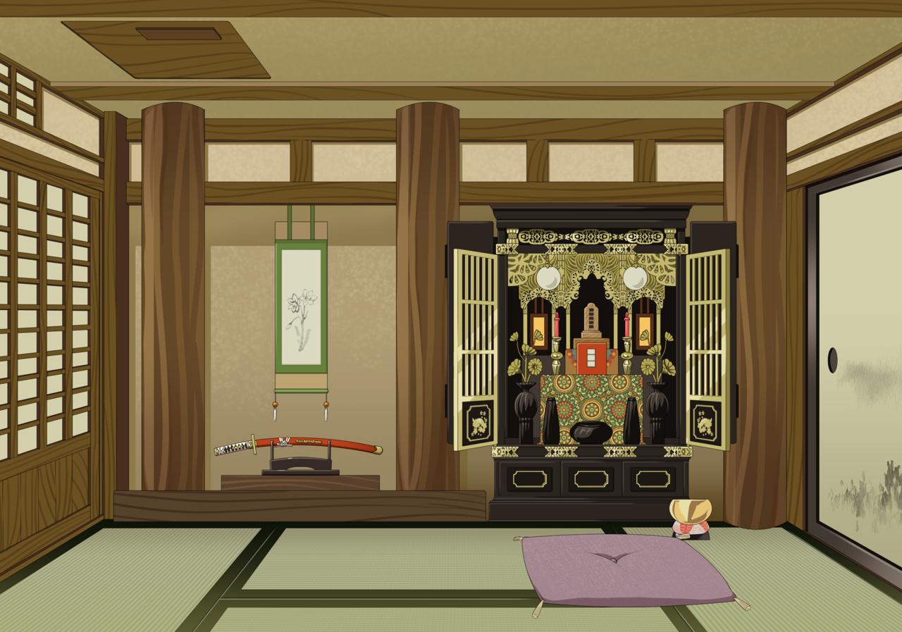 和風背景 Illust of カイセイ background Japanese_style original
