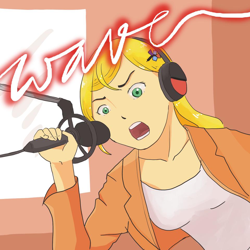 Wave - Listen to Me! Illust of Mera Viola superhero medibangpaint anime radio kodaminare