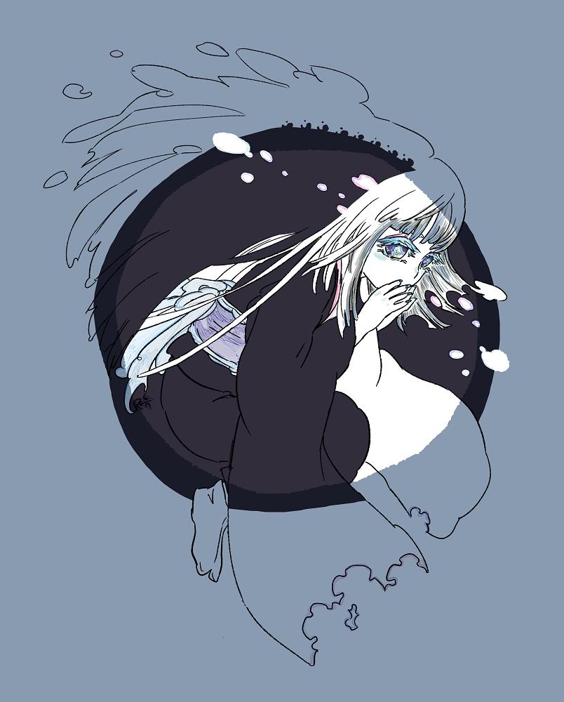 かこ え 11 Illust of 氏← Personification 過去絵