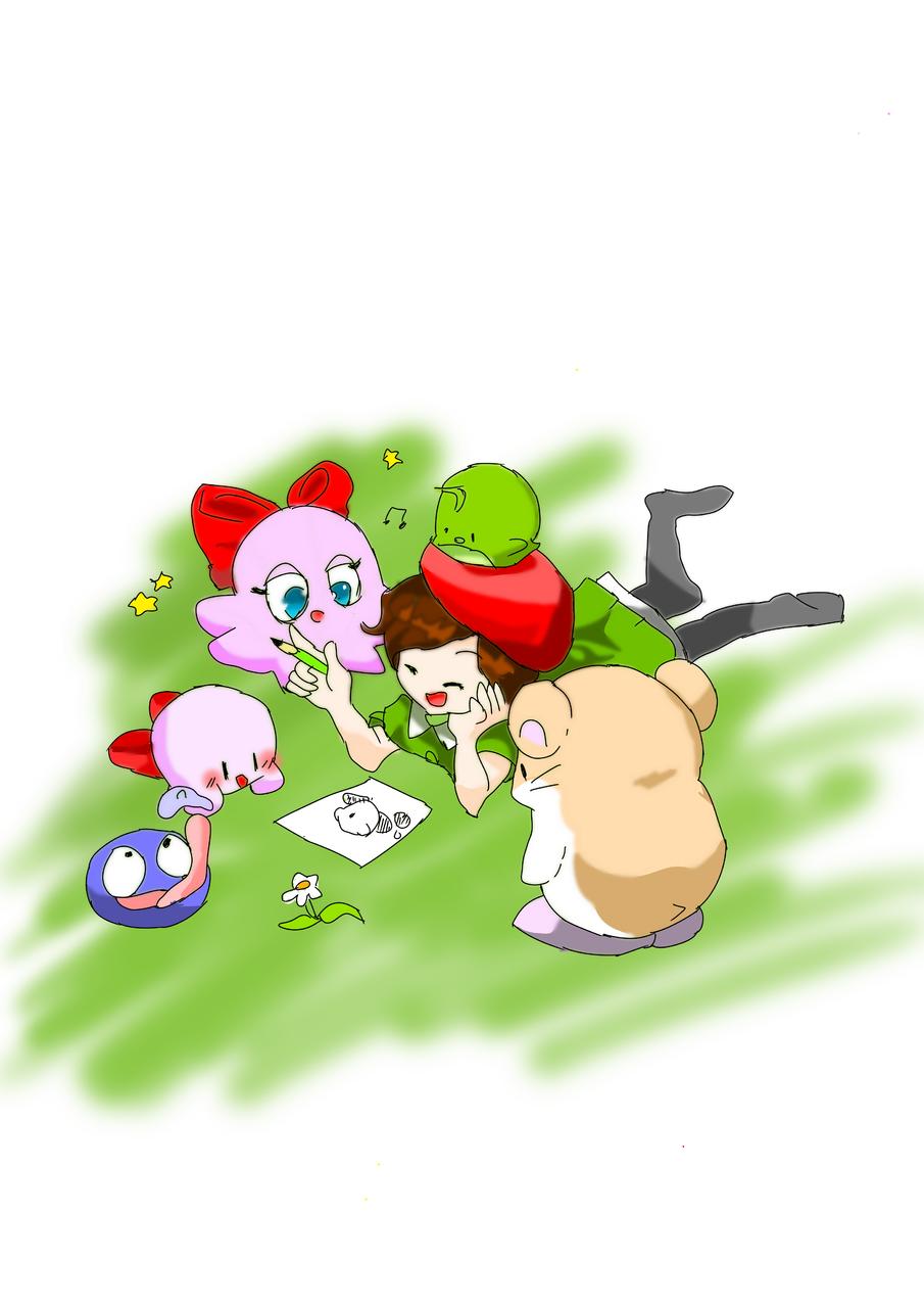 아드렌느 Illust of 별페니 character Kirby
