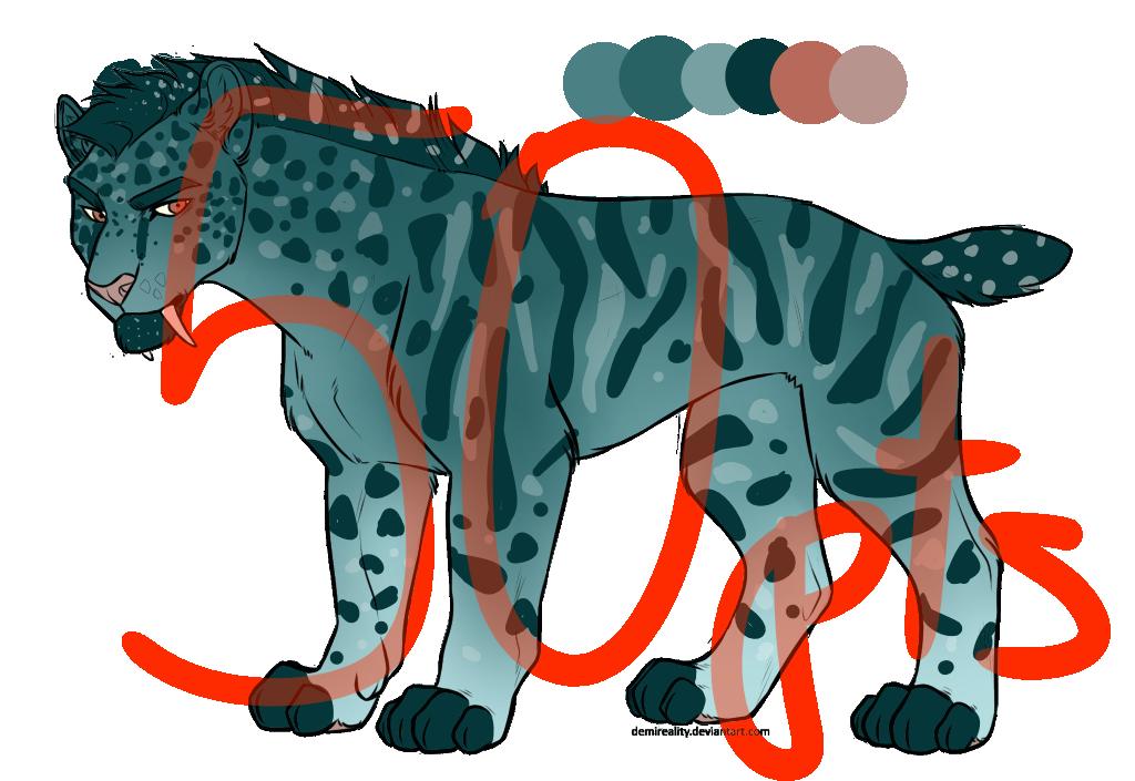 Adoptable primal lion
