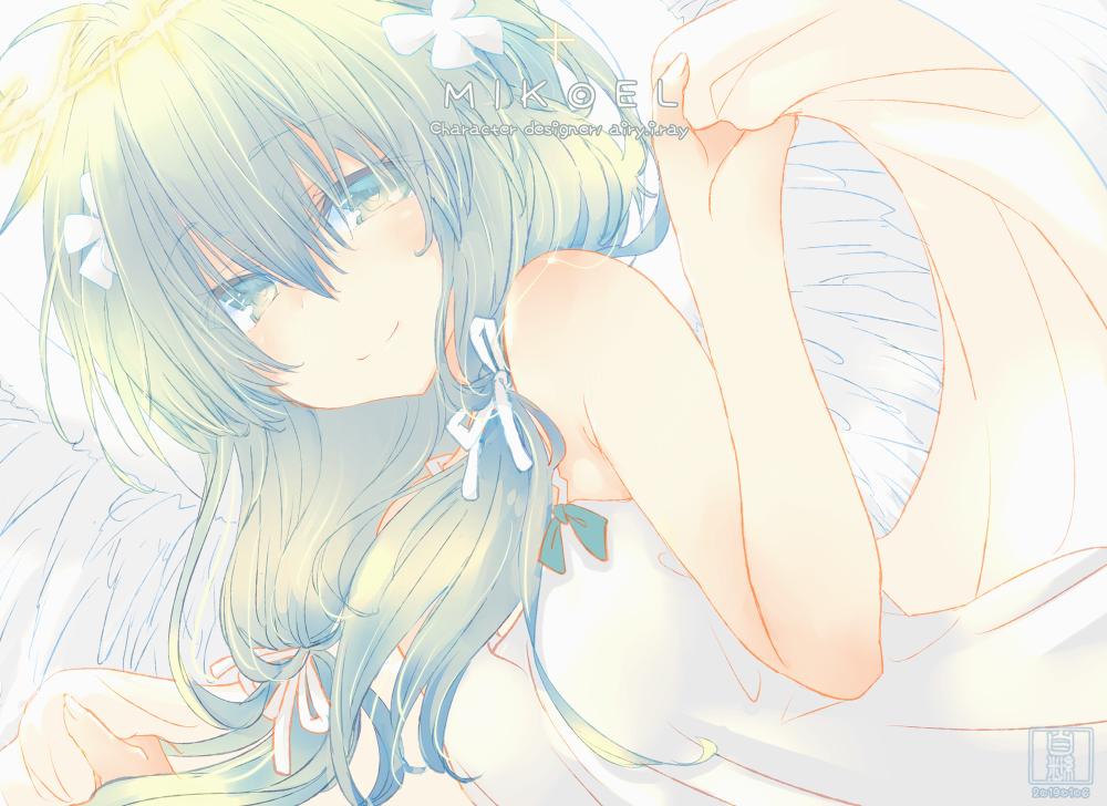† MIKOEL † Illust of 白継 fanart angel ボカロ丼 illustration girl original