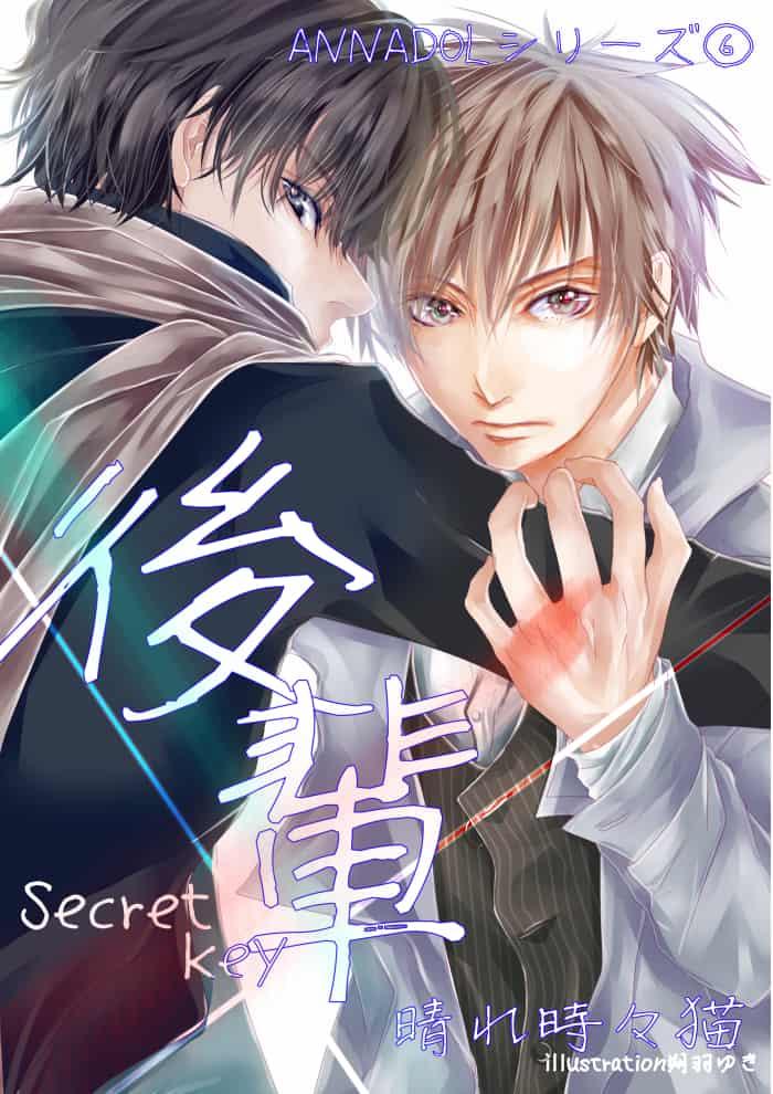 小説表紙『後輩~Secret key』