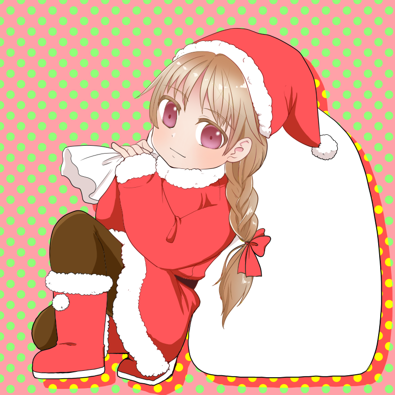 ミニスカサンタ Illust of nekono December2020_Contest:Santa おんなのこ