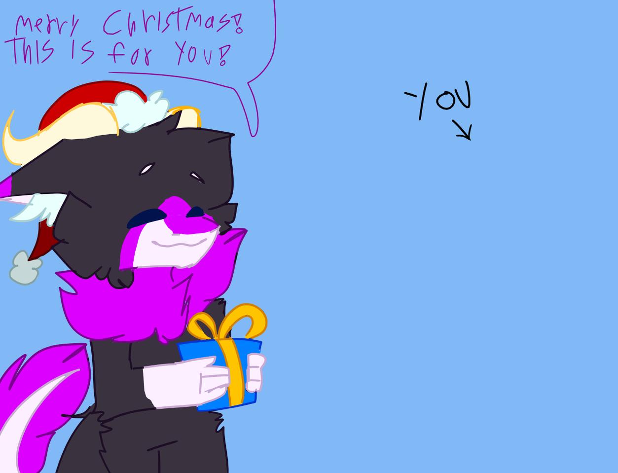 Christmas collab? :0 Illust of 🎃GhostTheBeast🎃 medibangpaint