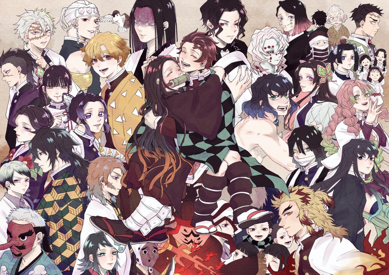 鬼殺の記憶 Illust of さゐこ DemonSlayerFanartContest KamadoTanjirou KimetsunoYaiba KamadoNezuko
