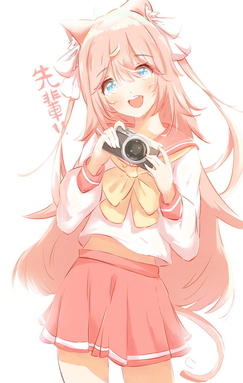 先輩!!! Illust of みずき@ミッキー September2020_Contest:Furry MyIdealWaifu_MyIdealHusbandoContest MyIdealWaifu