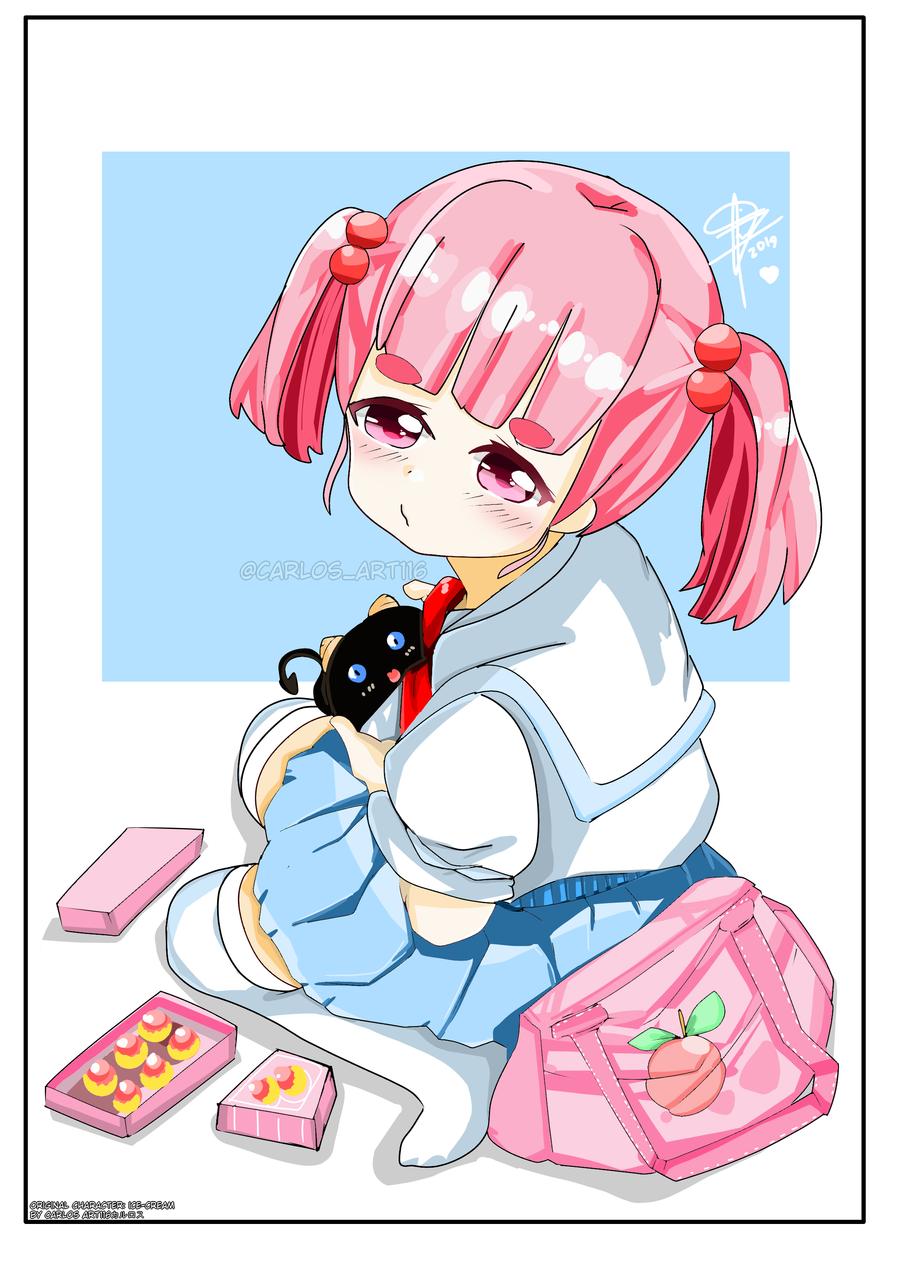 original character: ice-cream !!