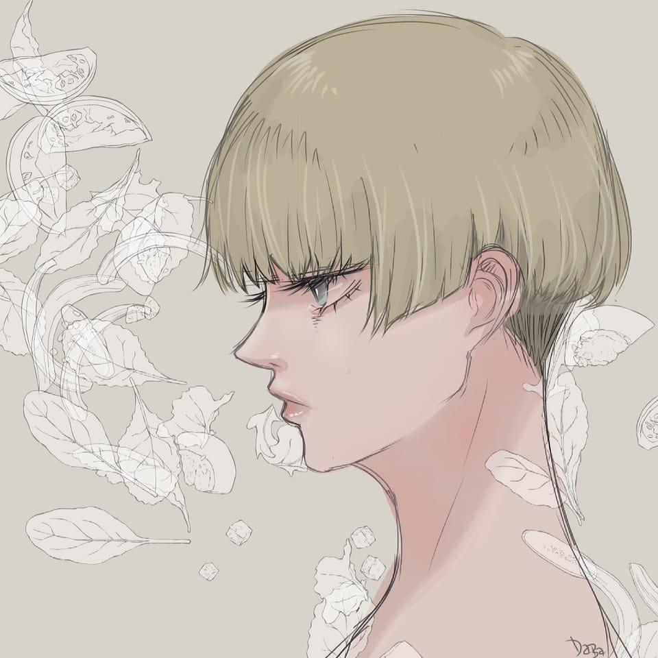 イェレナ Illust of daba_illust illustration painting manga cute art fanart イェレナ AttackonTitan anime