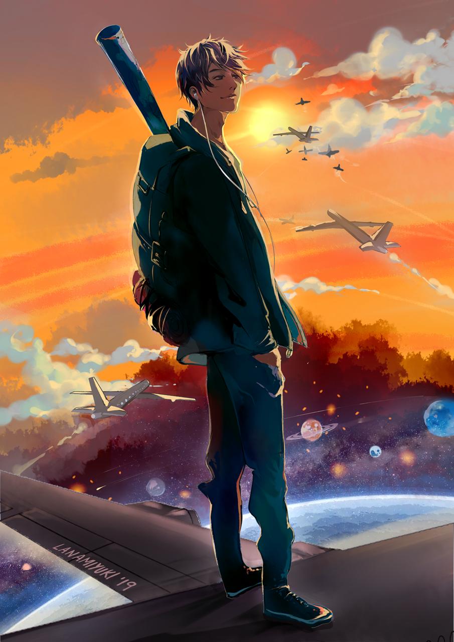 LIMITLESS Illust of Lanamiyuki 3rdMCPOillustration lanamiyuki space 2019 illustration