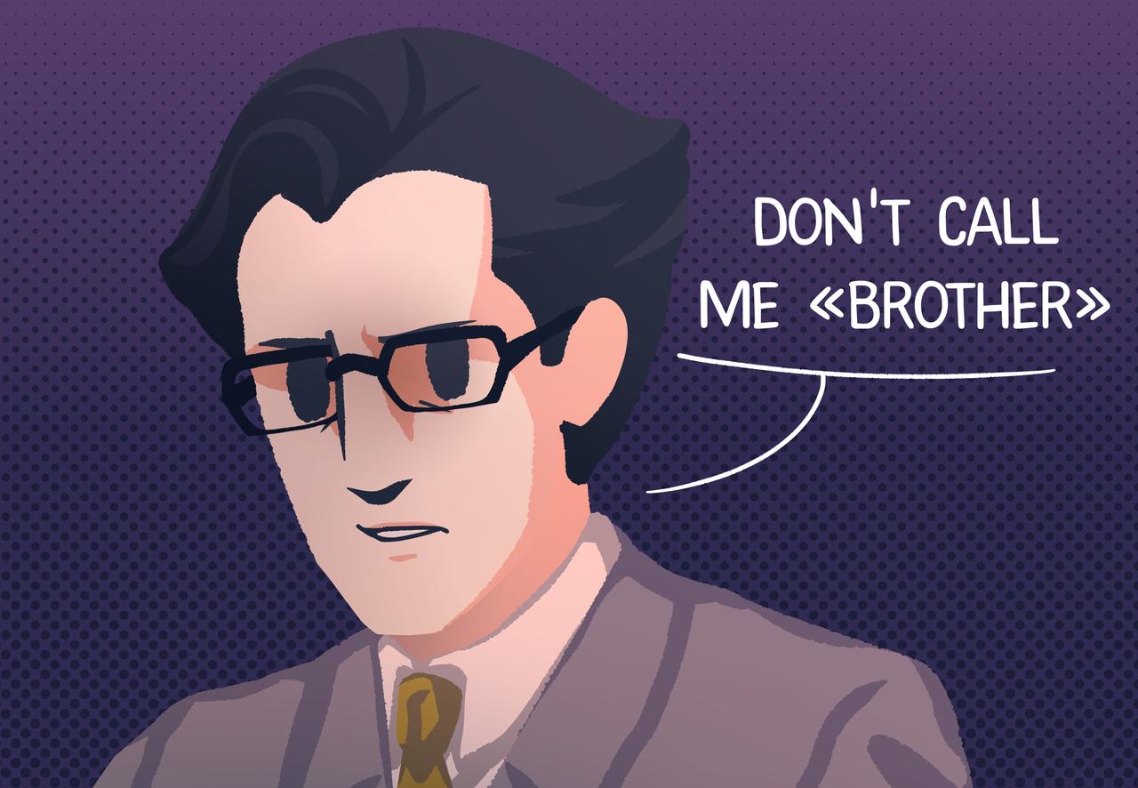 Bro Illust of Mr.Sheogorath comedy Comics kabukichou_sherlock John anime Mycroft Watson