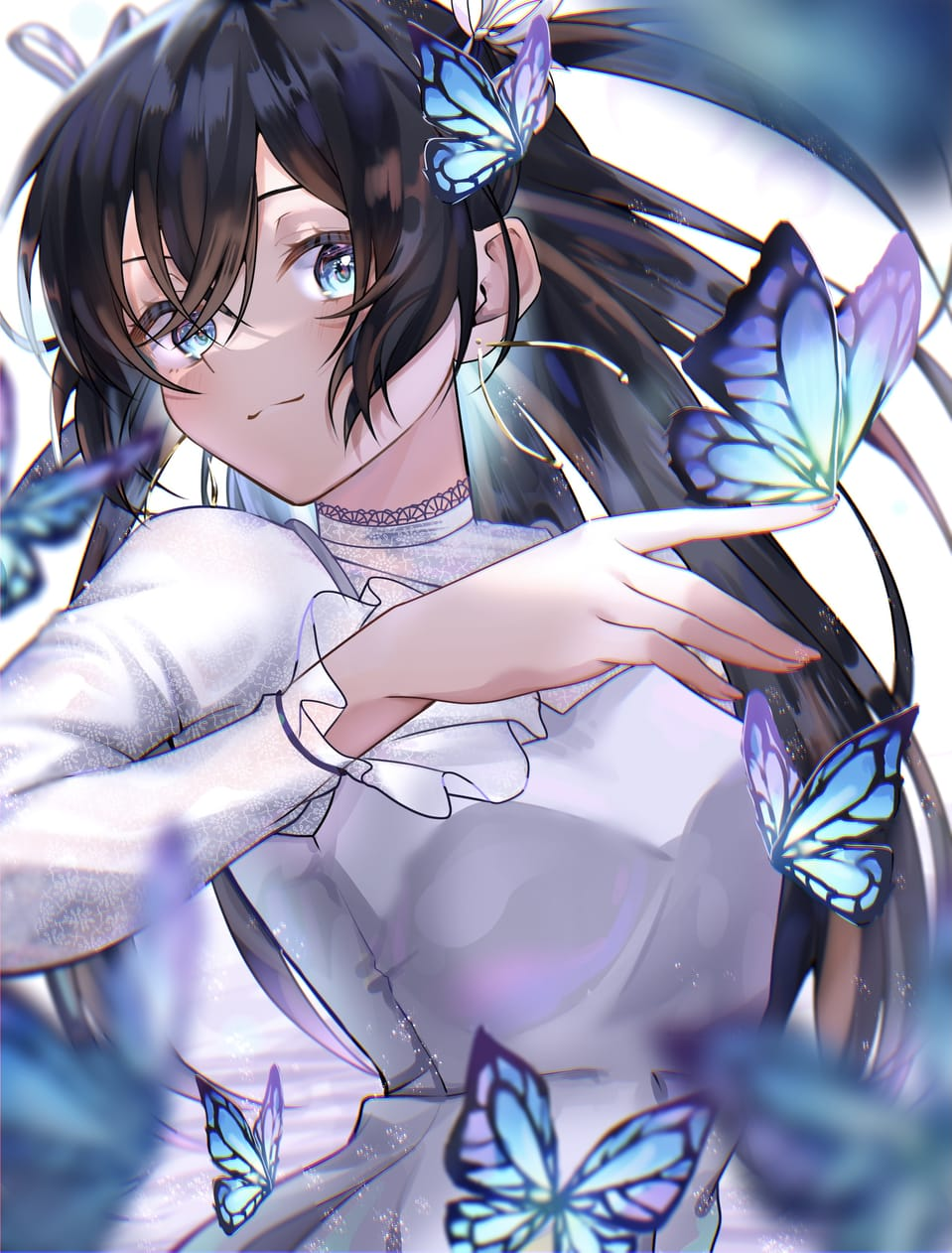 🦋 Illust of あきと 蝶々 girl oc
