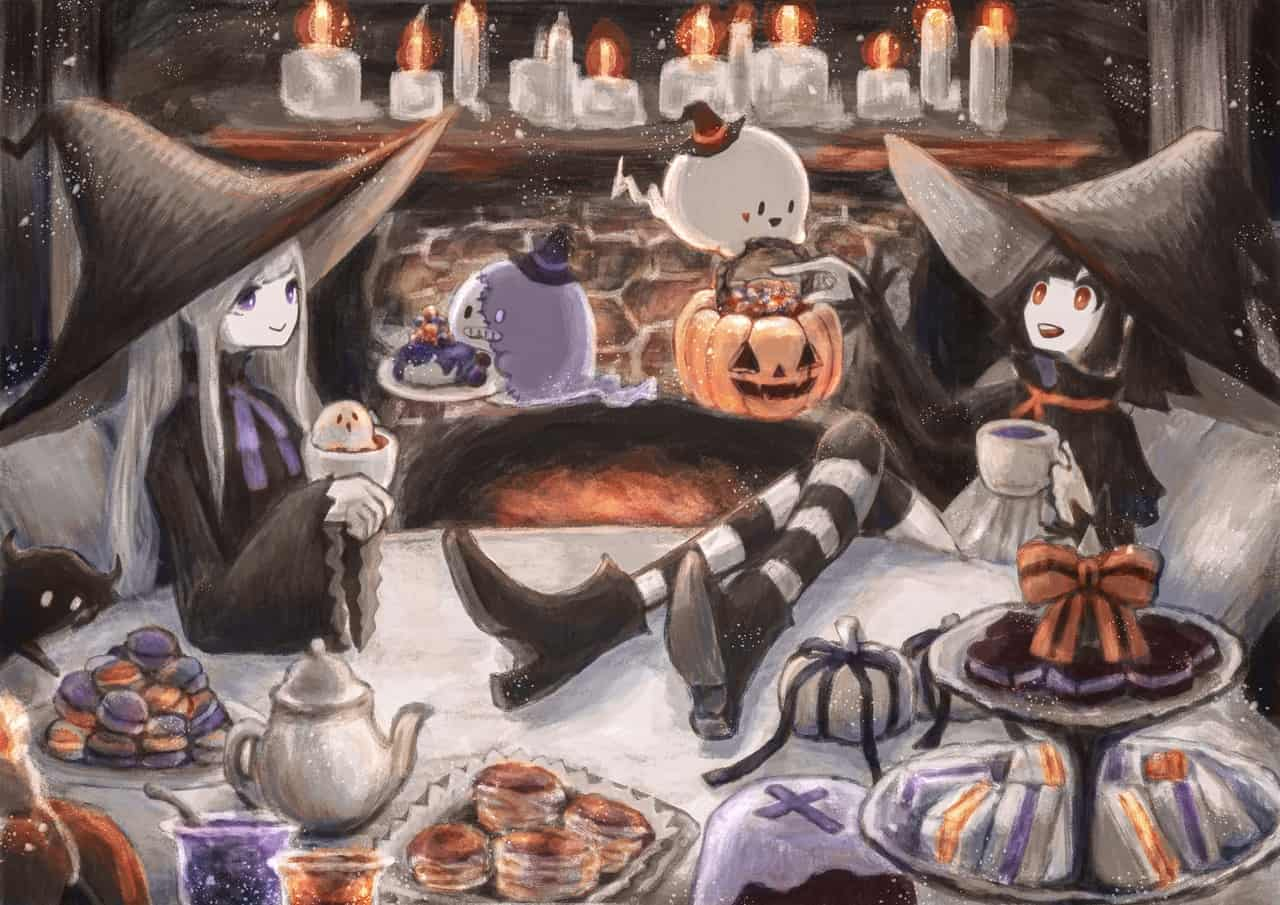 ・:*+ Halloween party .:+