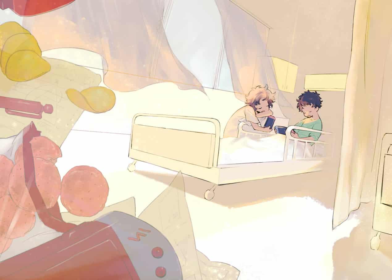うたた寝 Illust of トナト boy illustration original