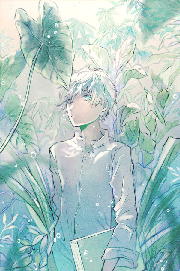 追窮 Illust of 緑乃 植物 original boy