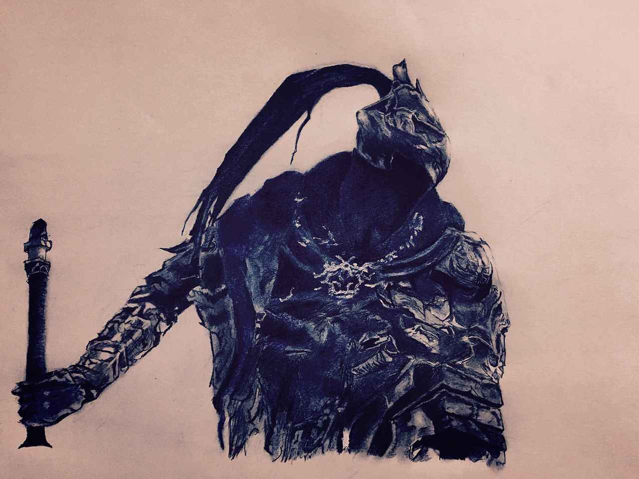 アルトリウス Illust of 武士道 coloredpencil ダークソウル
