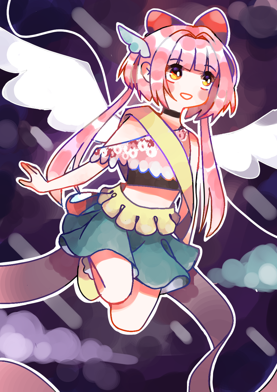 A magical girl Illust of ~ medibangpaint