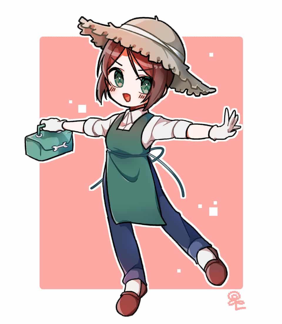 정원사는 일본어로 니와시라구!~