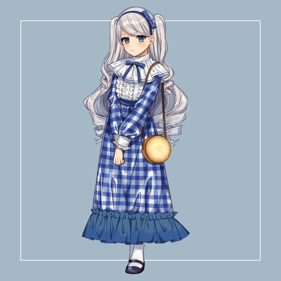 ムーンライトクッキー Illust of カロクチトセ original Personification characterdesign お菓子