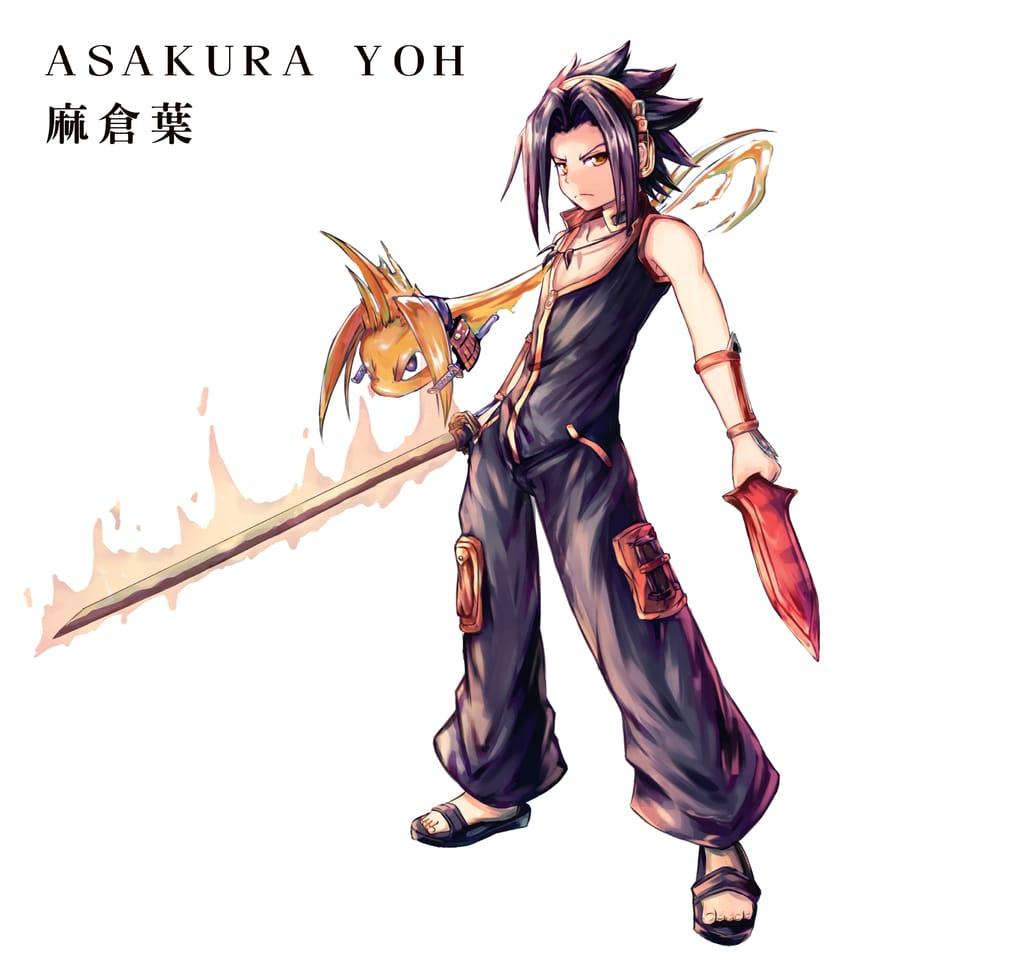 麻倉葉 Illust of Akazawa syouhei illustration painting 立繪 角色 impasto 麻倉葉 SHAMANKING