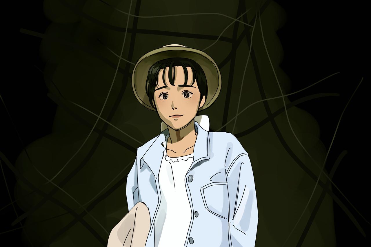 보랏빛향기  Illust of 누리 medibangpaint illustration painting Animation character drawing animator