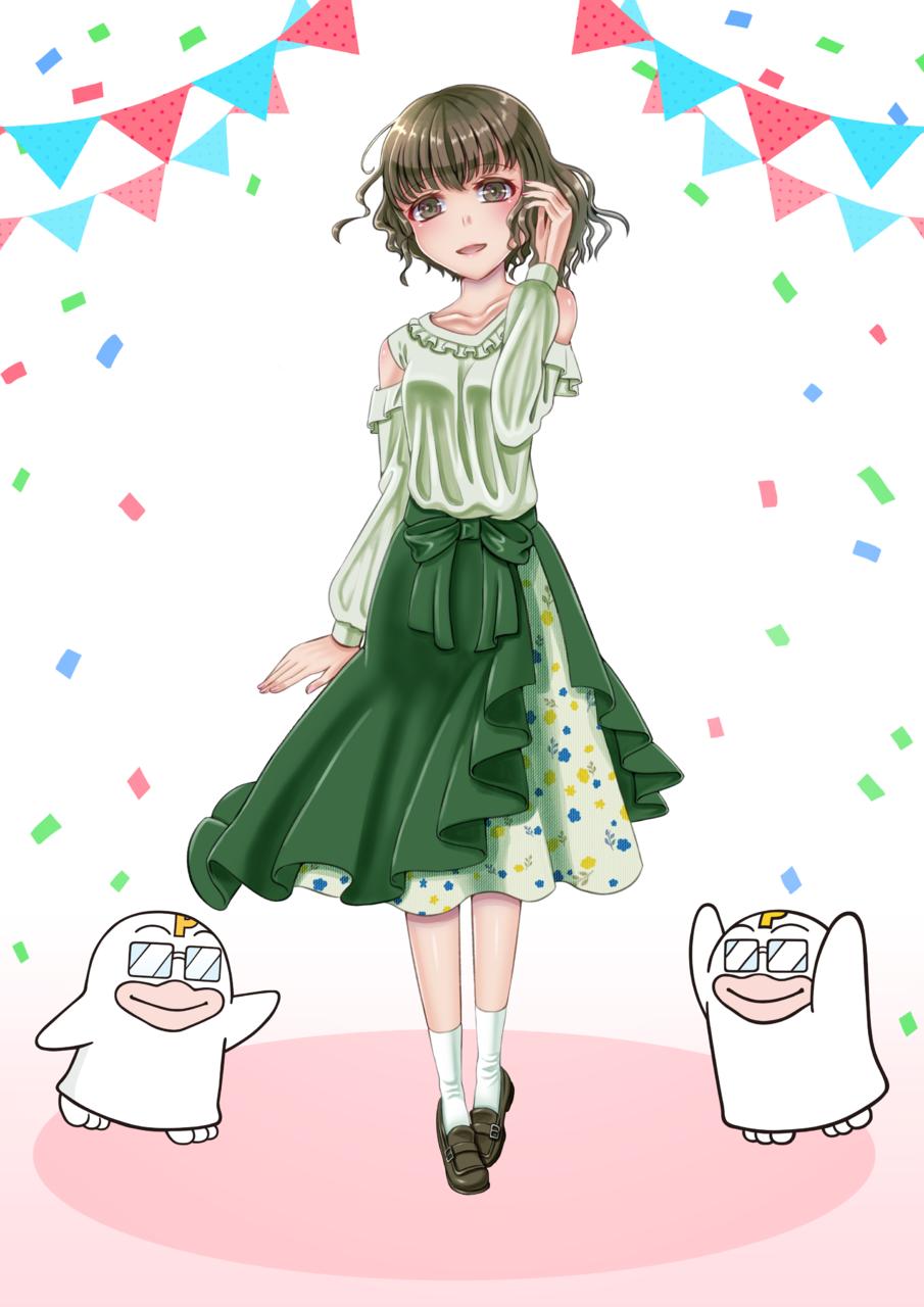 PICOQガールフレンド Illust of てあせ PICO公式キャラクターPICOQガールフレンド大募集!!コンテスト