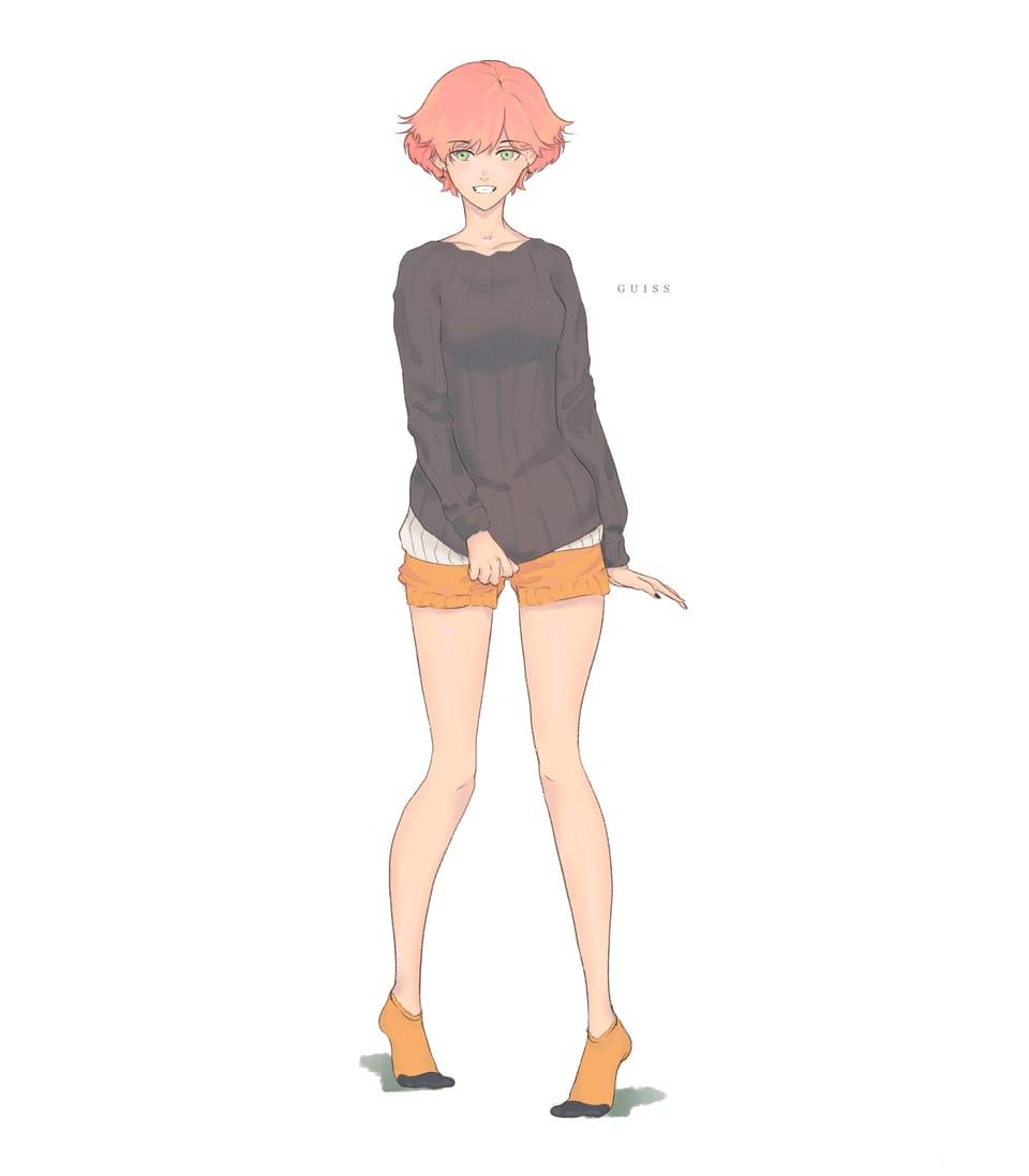 Iru Illust of Guiss illustration animeart angel Artwork animegirl art fanart characterdesign digitalpainting character