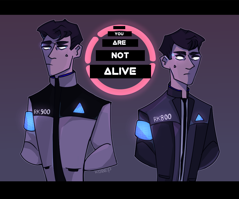 You are not alive