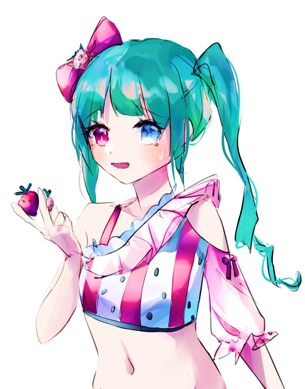 🍓 Illust of Yuurei鬼 drawing portrait painting art woman illustration girl original doodle pink