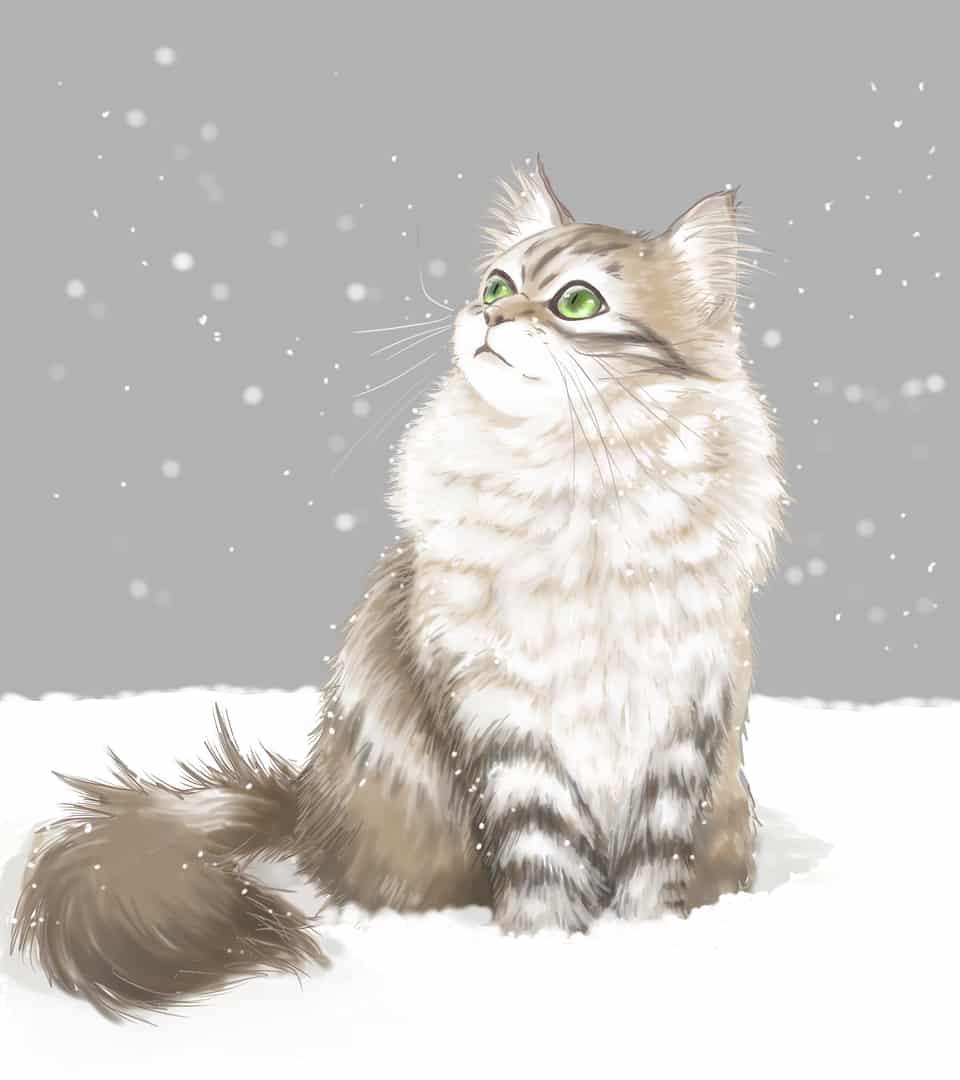 雪国のモフモフ