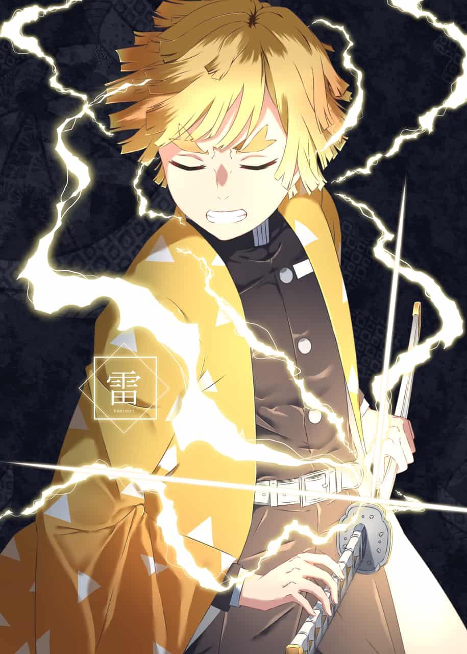 善逸 Illust of 丹生きびか DemonSlayerFanartContest KimetsunoYaiba AgatsumaZenitsu