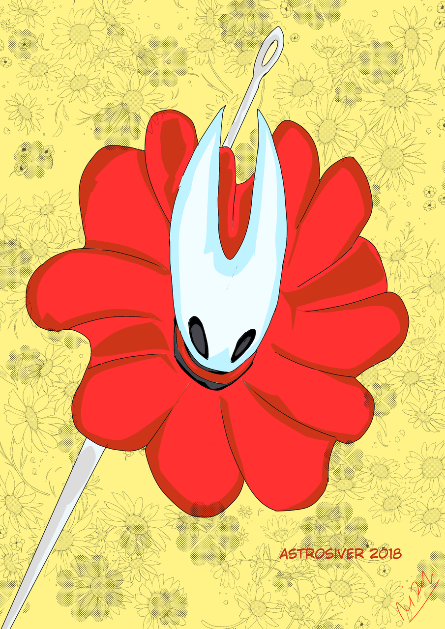 he need faster helps  Illust of astrosiver2018 April2021_Flower March2021_Creature MySecretSocietyContest medibangpaint anime HollowKknight animal Hollow alien illustration Hollow_Knight flower Ilustration