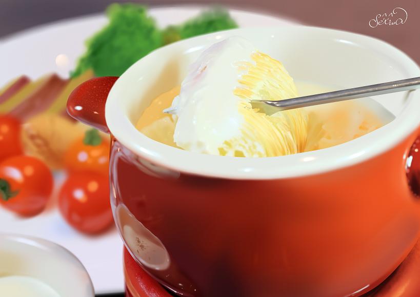 チーズフォンデュ(練習)