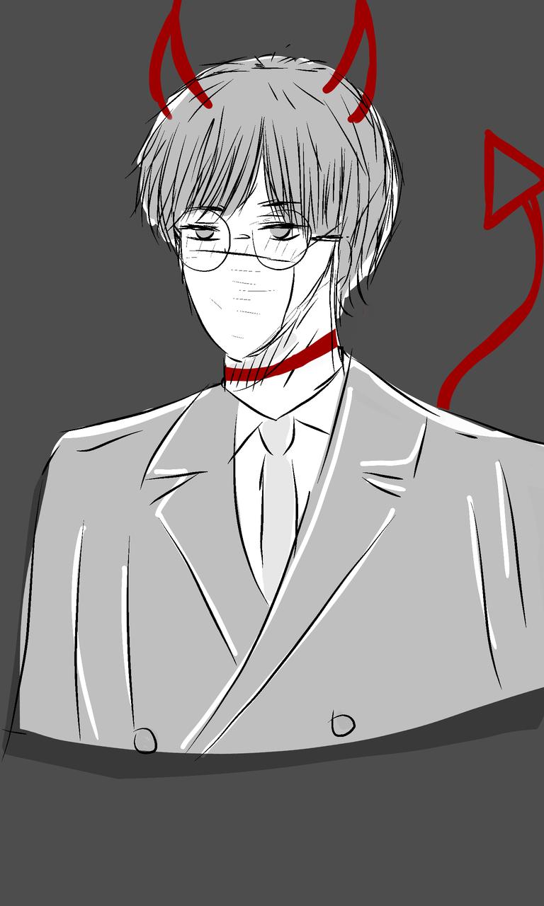 Boy uwu Illust of MichBae3 medibangpaint manga drawing anime boy