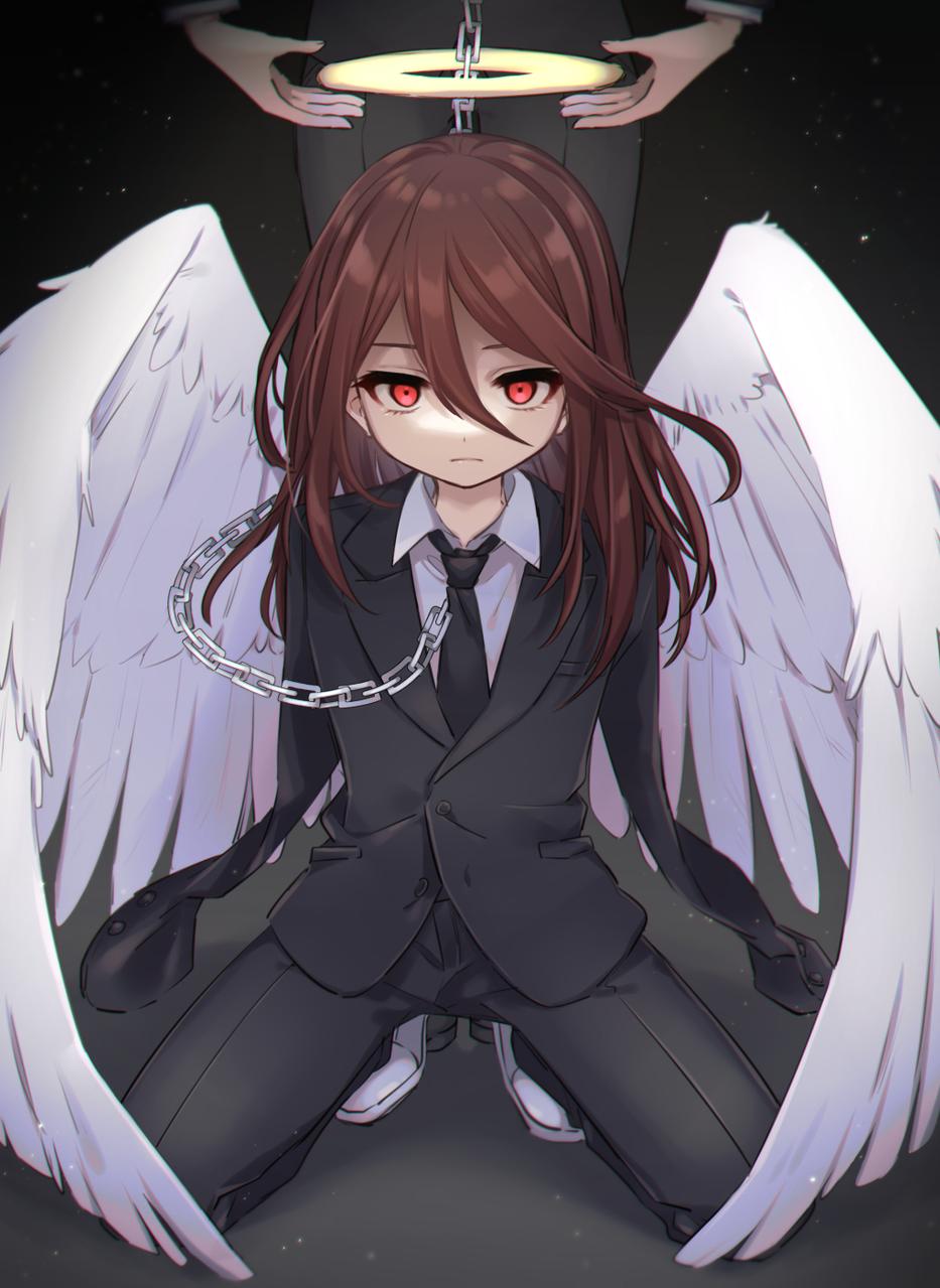 天使の悪魔 Illust of 篠谷すみっこ 天使の悪魔 fanfic ChainsawMan