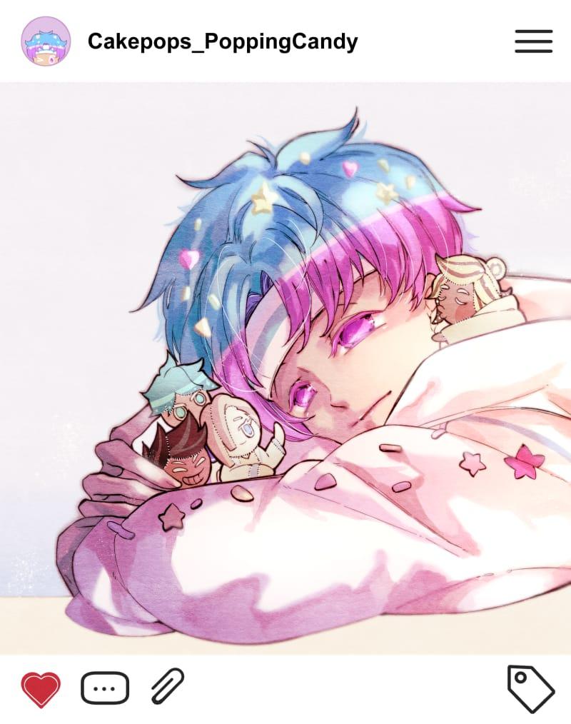 popping candy Illust of 竹川獅 Cookie_Run illustration 同人