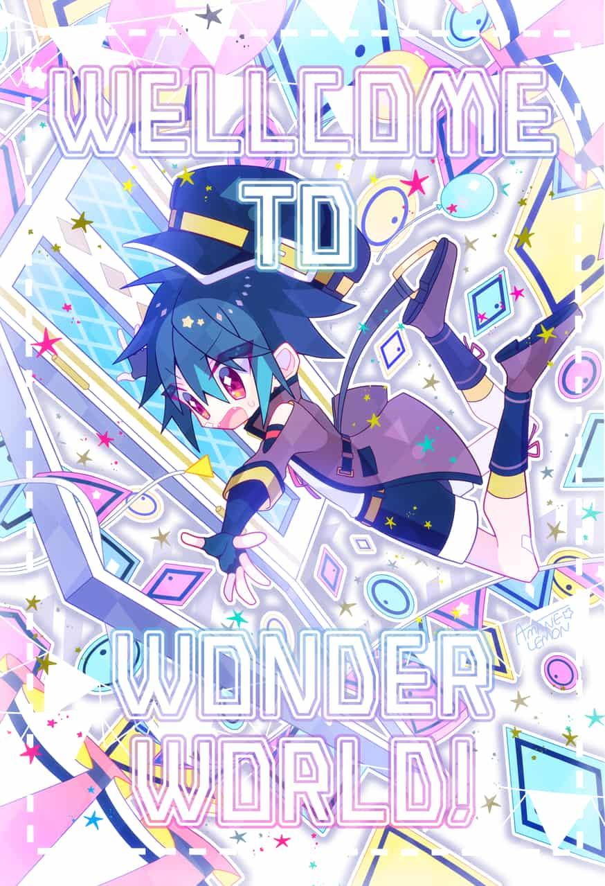WELLCOME TO WONDER WORLD! Illust of 天音れもん original