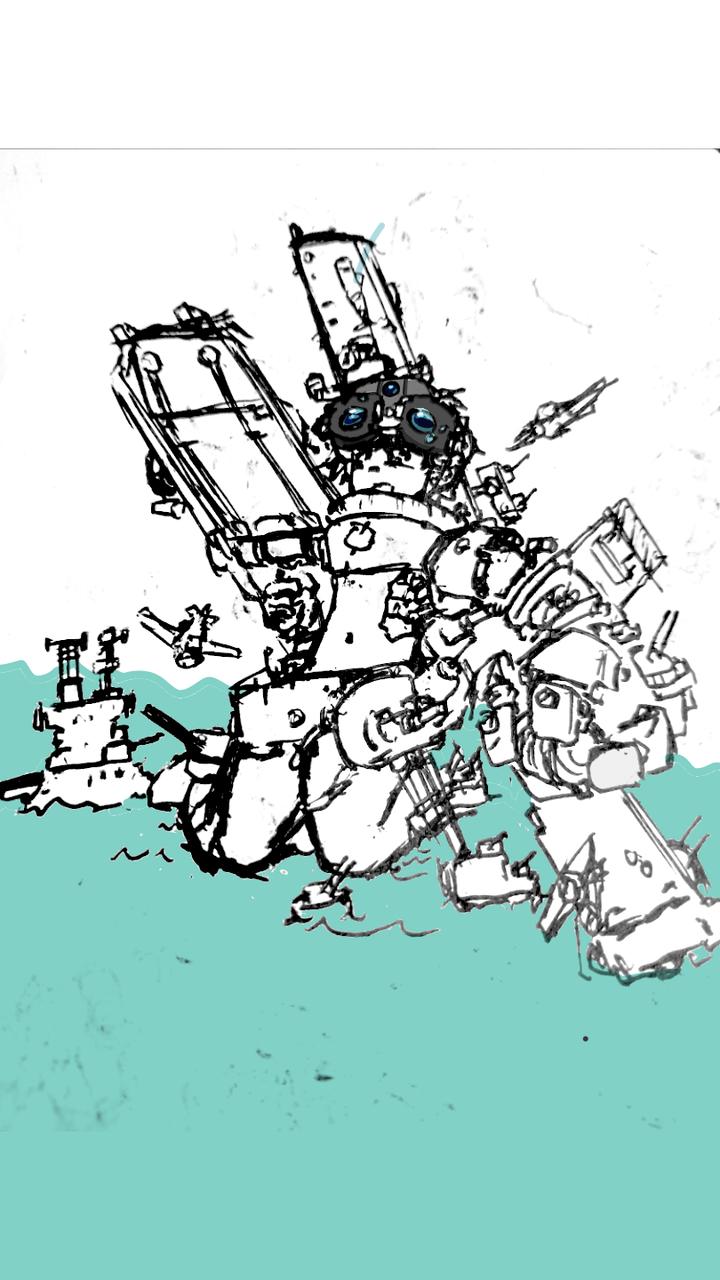 手绘转指绘 Illust of 火活鱼 medibangpaint