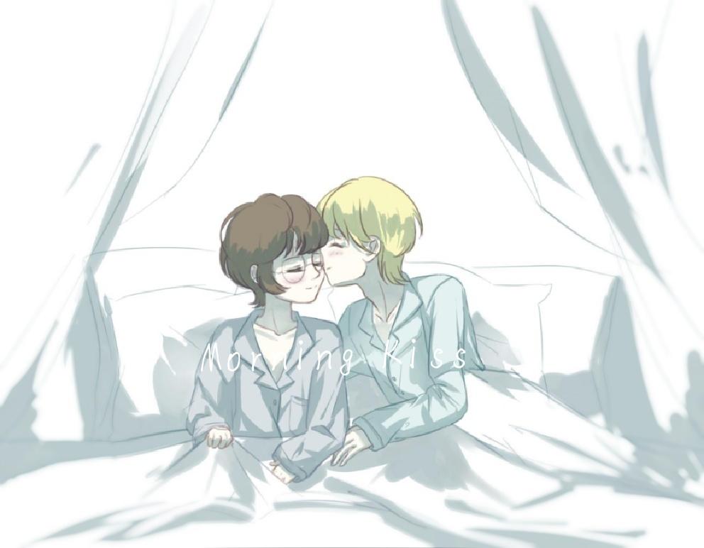 The Morning Kiss  Illust of Crotty medibangpaint Drarry