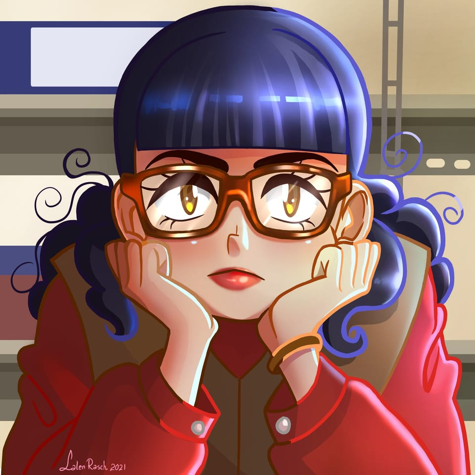 Yo soy Betty la fea fanart Illust of LalenRasch Cristo es rey! illustration yosoybettylafea girl Fanarts animegirl medibangpaint drawing novela animestyle digital